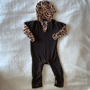 Kickee Pants Coveralls with Hood, 12-18 months